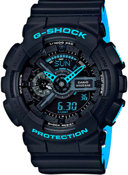 Casio Часы Casio GA-110LN-1A. Коллекция G-Shock casio g shock ga 110ln 1a