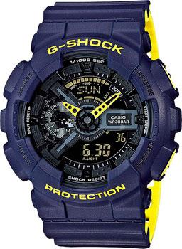 Casio Часы Casio GA-110LN-2A. Коллекция G-Shock casio g shock ga 110ln 1a