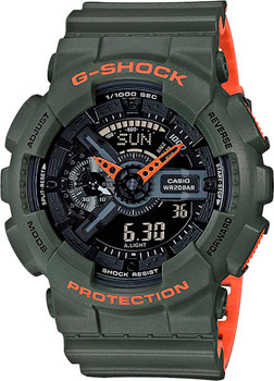купить Casio Часы Casio GA-110LN-3A. Коллекция G-Shock по цене 11690 рублей