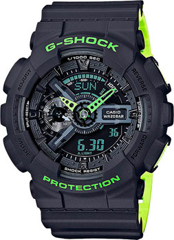 Casio Часы Casio GA-110LN-8A. Коллекция G-Shock casio g shock ga 110ln 1a