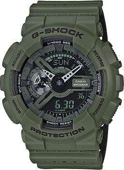 Casio Часы Casio GA-110LP-3A. Коллекция G-Shock комплект в кроватку