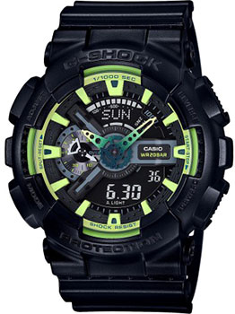 Casio Часы Casio GA-110LY-1A. Коллекция G-Shock casio часы casio ga 100bw 1a коллекция g shock