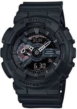 Casio Часы Casio GA-110MB-1A. Коллекция G-Shock часы casio g shock ga 110mb 1a black