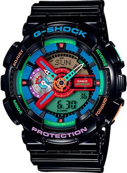 Casio Часы Casio GA-110MC-1A. Коллекция G-Shock casio g shock g classic ga 110mb 1a