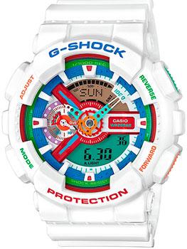 Casio Часы Casio GA-110MC-7A. Коллекция G-Shock casio часы g shock ga 110tp 7a