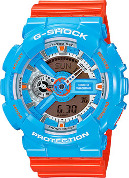 Casio Часы Casio GA-110NC-2A. Коллекция G-Shock casio g shock gst w110d 2a