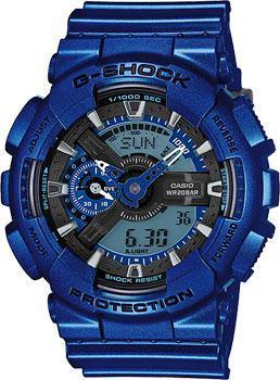 Casio Часы Casio GA-110NM-2A. Коллекция G-Shock часы casio ga 110nm 2a