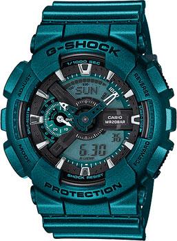 Casio Часы Casio GA-110NM-3A. Коллекция G-Shock casio ga 110nm 3a