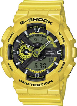 Casio Часы Casio GA-110NM-9A. Коллекция G-Shock casio casio ga 110nm 9a