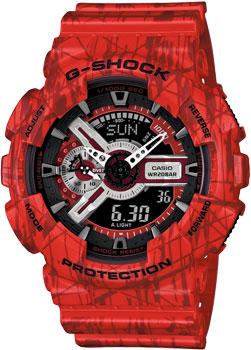 Casio Часы Casio GA-110SL-4A. Коллекция G-Shock casio g shock g premium ga 1000 4a