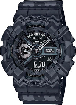 Casio Часы Casio GA-110TP-1A. Коллекция G-Shock casio g shock ga 110tp 7a