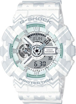 Casio Часы Casio GA-110TP-7A. Коллекция G-Shock casio g shock ga 110tp 7a