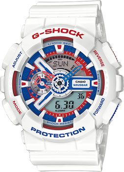 Casio Часы Casio GA-110TR-7A. Коллекция G-Shock casio g shock ga 110tp 7a