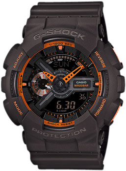 Casio Часы Casio GA-110TS-1A4. Коллекция G-Shock casio ga 100mc 1a4