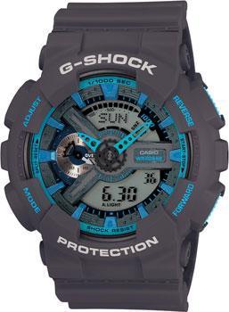 Casio Часы Casio GA-110TS-8A2. Коллекция G-Shock цена
