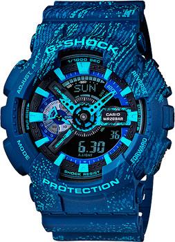 Casio Часы Casio GA-110TX-2A. Коллекция G-Shock casio g shock g classic ga 110mb 1a