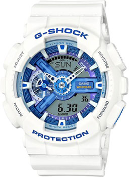 Casio Часы Casio GA-110WB-7A. Коллекция G-Shock casio g shock ga 110tp 7a