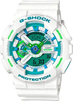 Casio Часы Casio GA-110WG-7A. Коллекция G-Shock casio часы g shock ga 110tp 7a
