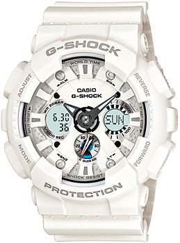 Casio Часы Casio GA-120A-7A. Коллекция G-Shock