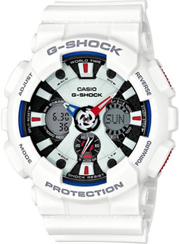 Casio Часы Casio GA-120TR-7A. Коллекция G-Shock casio g shock ga 110tp 7a