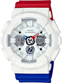 Casio Часы Casio GA-120TRM-7A. Коллекция G-Shock casio g shock ga 110tp 7a