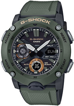 Часы Casio G-Shock GA-2000-3AER
