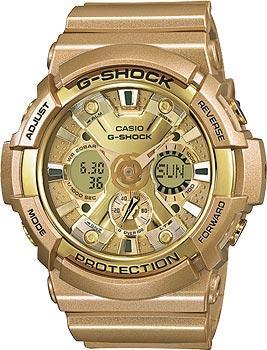 Casio Часы Casio GA-200GD-9A. Коллекция G-Shock casio lq 139emv 9a