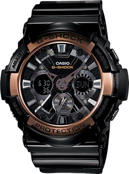 Casio Часы Casio GA-200RG-1A. Коллекция G-Shock casio g shock g classic ga 110mb 1a