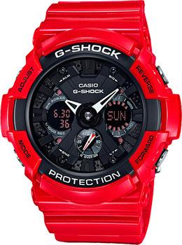 Casio Часы Casio GA-201RD-4A. Коллекция G-Shock casio g shock g premium ga 1000 4a