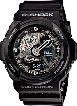 Casio Часы Casio GA-300-1A. Коллекция G-Shock casio ga 120bb 1a