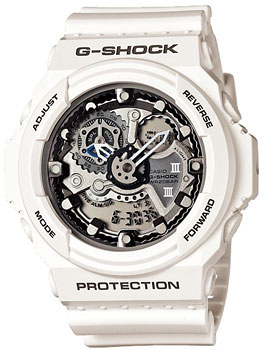 Casio Часы Casio GA-300-7A. Коллекция G-Shock casio sheen multi hand shn 3013d 7a