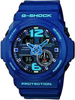 Casio Часы Casio GA-310-2A. Коллекция G-Shock casio g shock g classic ga 110mb 1a