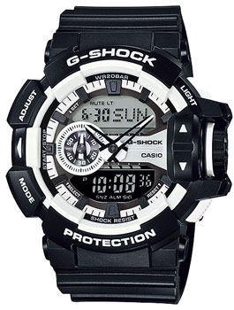 Casio Часы Casio GA-400-1A. Коллекция G-Shock casio ga 110hc 1a
