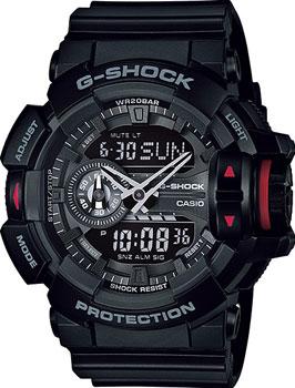 Casio Часы Casio GA-400-1B. Коллекция G-Shock