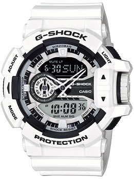Casio Часы Casio GA-400-7A. Коллекция G-Shock casio sheen multi hand shn 3013d 7a