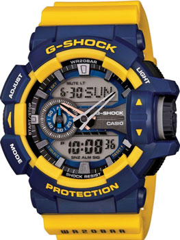 Casio Часы Casio GA-400-9B. Коллекция G-Shock