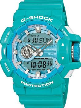 Casio Часы  GA-400A-2A. Коллекция -Shock