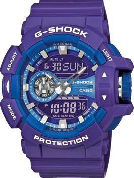 Casio Часы Casio GA-400A-6A. Коллекция G-Shock casio часы casio gma s110mc 6a коллекция g shock