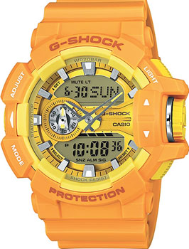 Casio Часы Casio GA-400A-9A. Коллекция G-Shock casio ga 110ne 9a