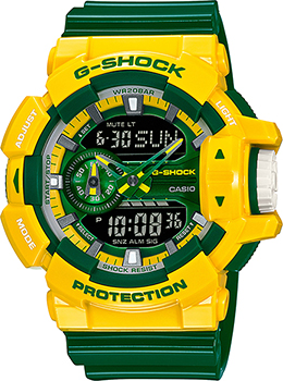 Casio Часы Casio GA-400CS-9A. Коллекция G-Shock casio ga 110ne 9a