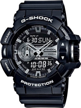 Casio Часы Casio GA-400GB-1A. Коллекция G-Shock casio ga 400gb 1a