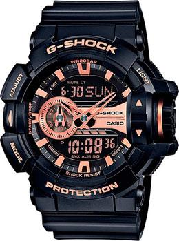 Casio Часы Casio GA-400GB-1A4. Коллекция G-Shock casio ga 100mc 1a4