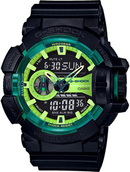 Casio Часы Casio GA-400LY-1A. Коллекция G-Shock casio часы casio ga 100bw 1a коллекция g shock