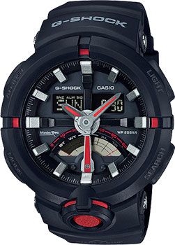 Casio Часы Casio GA-500-1A4. Коллекция G-Shock casio ga 100mc 1a4
