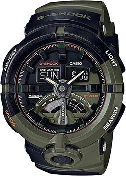 Casio Часы Casio GA-500K-3A. Коллекция G-Shock casio ga 500p 3a