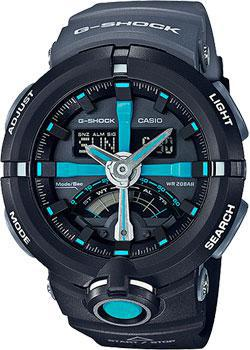 Casio Часы Casio GA-500P-1A. Коллекция G-Shock  casio ga 500p 3a