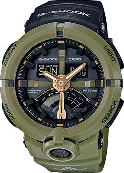 Casio Часы Casio GA-500P-3A. Коллекция G-Shock casio ga 500p 3a