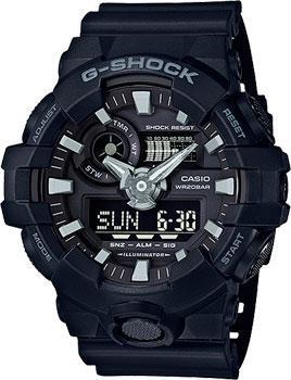 Casio Часы Casio GA-700-1B. Коллекция G-Shock casio ga 400 1b