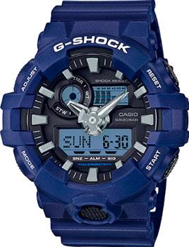 Casio Часы  GA-700-2A. Коллекция -Shock