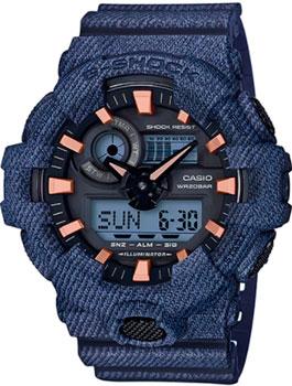 Casio Часы Casio GA-700DE-2A. Коллекция G-Shock